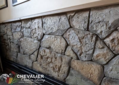 Interior Carved Concrete Wall
