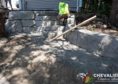 Concrete Stairs in Progress