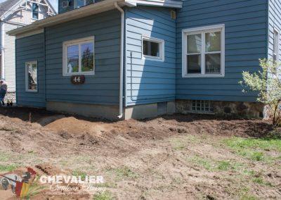 Adding Top Soil