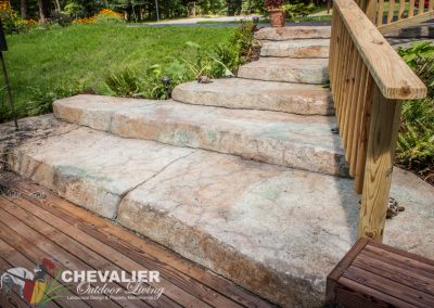 Decorative Concrete Stairs
