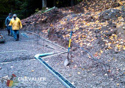 Installing Drainage