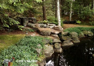 Natural Stone Waterfall