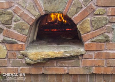 Brick & Stone Pizza Oven