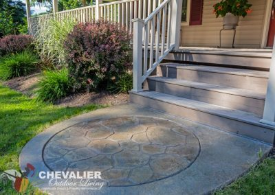 Stamped & Colored Concrete