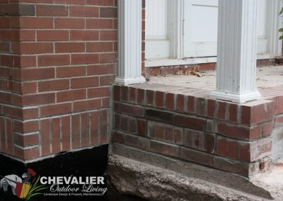 After: Masonry Repair