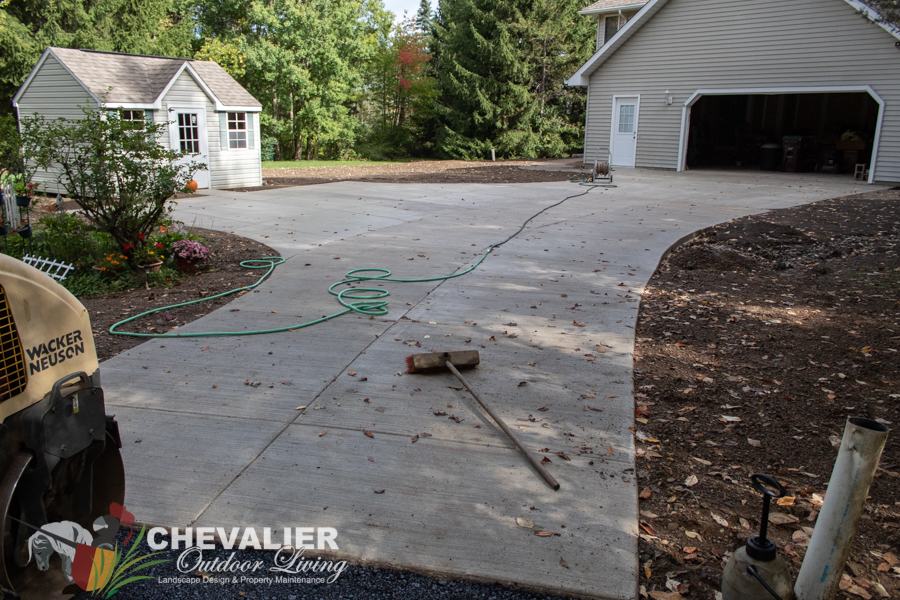 Driveway Installed
