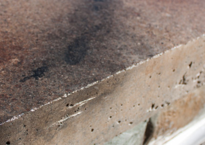 Colored Concrete Countertop