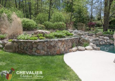 Before: Stone Wall
