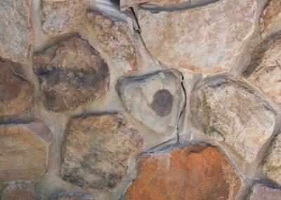 Before: Stone Wall Disrepair