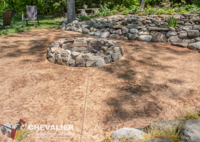 After: Refurbished Concrete Patio