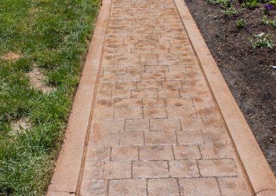 After: Reburbished Concrete Walkway