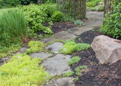 Before: Garden Pathway