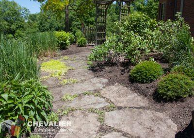 Weeded Walkway & Garden
