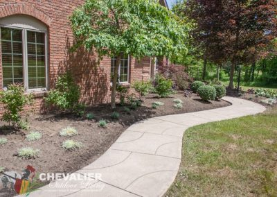 Planted Landscape & Cleaned Walkway