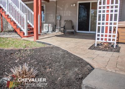 Before: Paver Patio