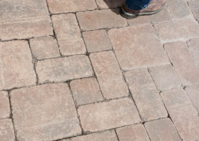 Cleaned Paver Patio
