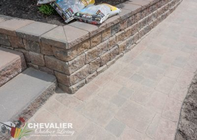 Clean Paver Walkway Filled with Polysand