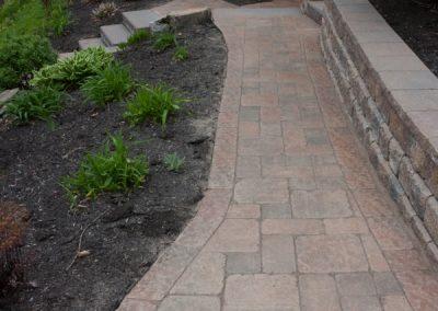 Refurbished Paver Pathway