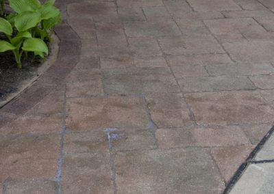 Sealed Paver Walkway