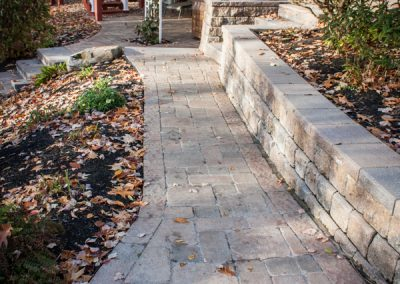 Renovated Paver Walkway