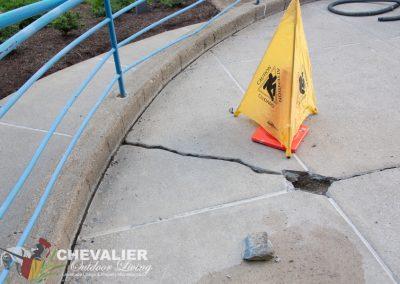 Repairing Landing
