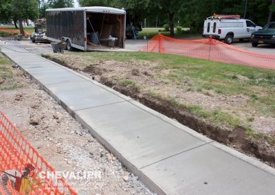 New Concrete Walkway