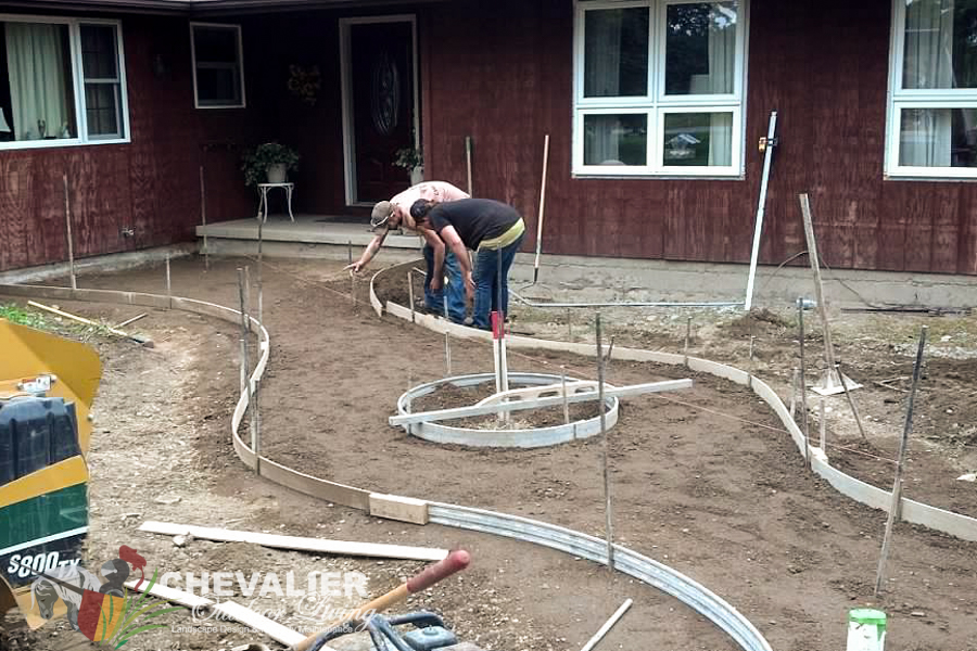 Setting Up Concrete Forms