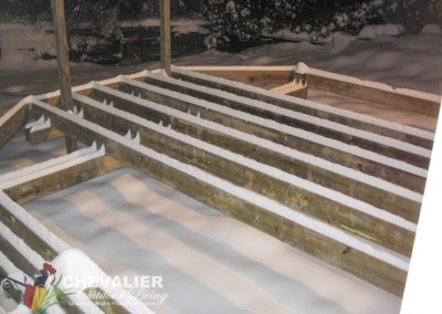 During: Deck Installation