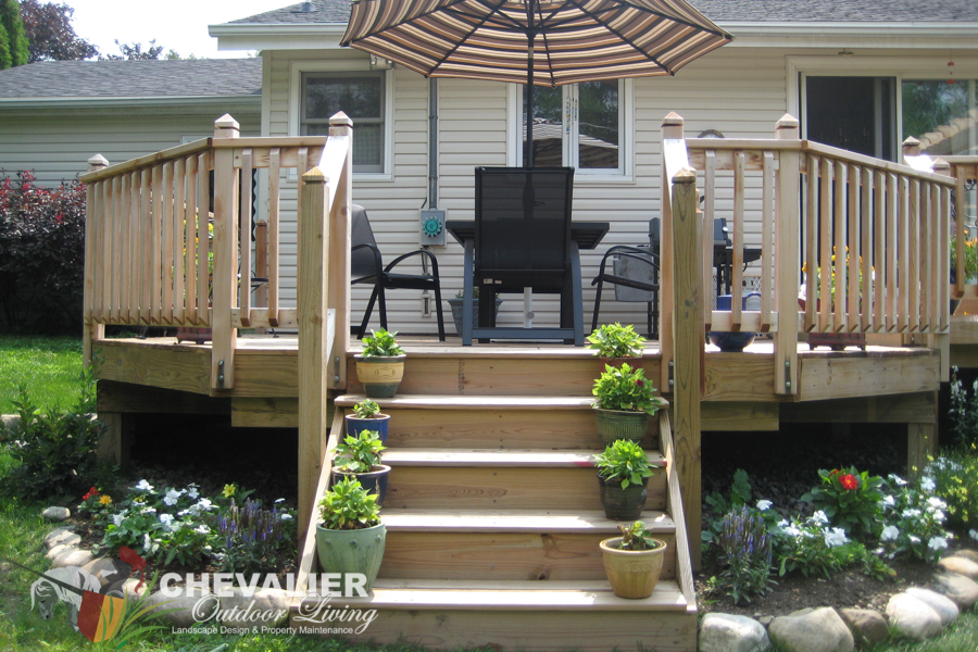 Stairs and Deck