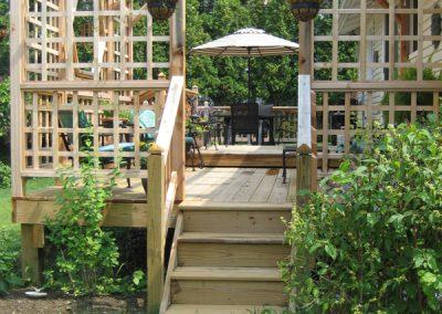 Deck and Pergola