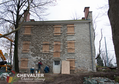 Historical Hull House Mortar Phase