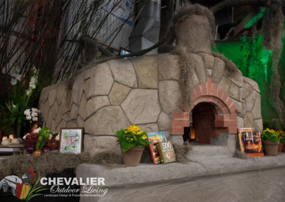 StoneMakers Carved Concrete and Brick Oven