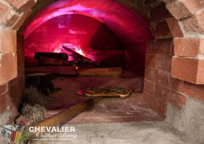 StoneMakers Carved Concrete and Brick Oven Inside