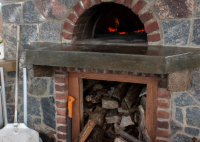 Natural Stone and Brick Oven